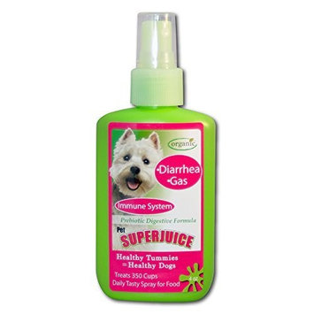 Pet SuperJUice for Dogs Prebiotic Digestive Supplement for Dogs