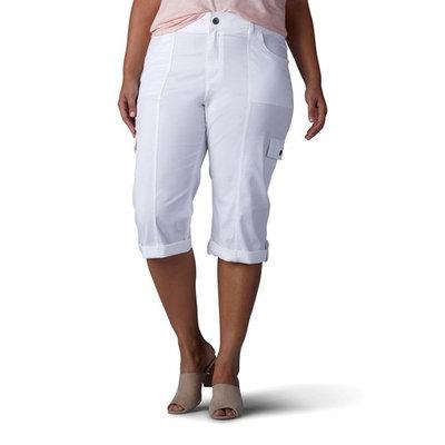 Plus Size Lee Skye Skimmer Capri Pant