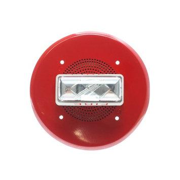 Edwards System Technologies Est EST Edwards 965-7A-4RR Red 4' Speaker Strobe Appliance, 15/75CD, Red, 70-VRMS