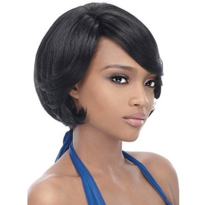 Synthetic Hair Half Wig OUTRE Quick Weave Cap Tina Color 2