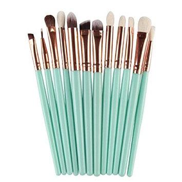 LUNIWEI Beauty Makeup 12 PCS/Set Brush Set