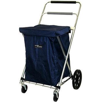 Quest Canvas Shopping Cart, Blue