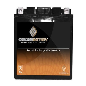 YTX14AH-BS ATV Battery for YAMAHA YFM400FG Grizzly 400CC 07-'08