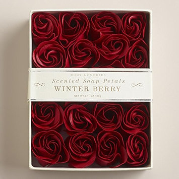 Winter Berry Scented Soap Petals