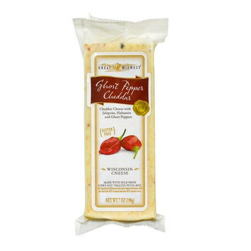 Great Midwest Ghost Pepper Cheddar Cheese, 7 oz.