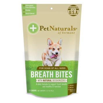 Pet Naturals Of Vermont Breath Bites Chews For Dogs 60/Pkg