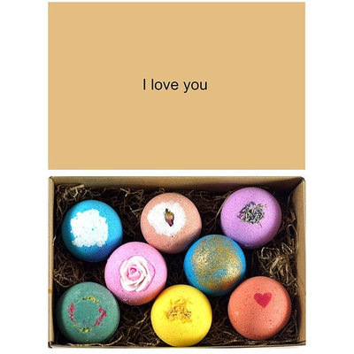 LifeAround2Angels 8 USA Made Bath Bombs Gift Set - 4.5oz Each - A Unique Luxury Gift for Her - Bath Bombs Kit - Ultra Lush Spa Fizzies - Best Gift Ideas - Valentine's Day Gift Set -
