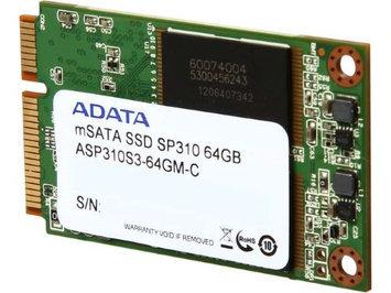 ADATA Premier Pro SP310 ASP310S3-64GM-C mSATA 64GB SATA 6GB/s MLC Internal Solid State Drive (SSD)
