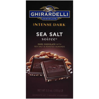 Ghirardelli Chocolate Intense Dark Bar, Sea Salt Soiree