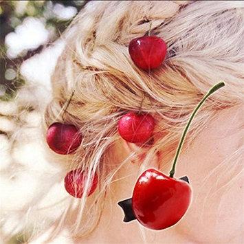 cuhair 5pcs Cherry Vintage Punk Women Girl Hair Clip Barrette Accessories