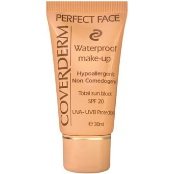 CoverDerm Perfect Face Concealing Foundation 4, 1 Ounce