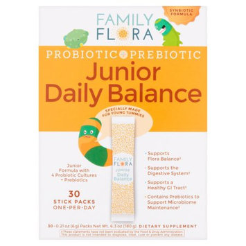 Family Flora Probiotic+Prebiotic Junior Daily Balance, 30ct