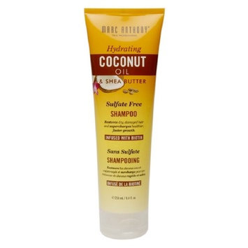 Marc Anthony True Professional Hydrating Coconut Oil & Shea Butter Shampoo 8.4 fl oz (250 ml) (Pack of 2)