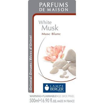 Lampe Berger 500ml/16.9-Fluid Ounces, White Musk Parfum De Maison [White Musk]