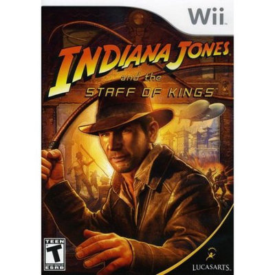 Lucasarts Entertainment Company Indiana Jones and the Staff of Kings (used)