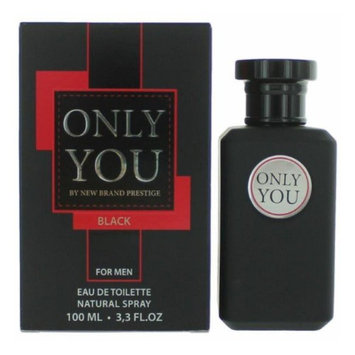 Only You Black by New Brand, 3.3 oz Eau De Toilette Spray for Men