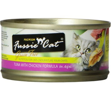 Mojetto Fussie Cat Premium Tuna/Chicken Can Cat Food 24 Pk