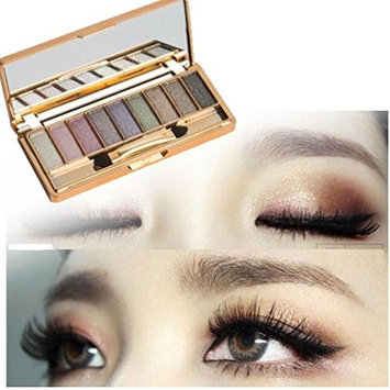 ABASSKY 9 Colors Shimmer Eyeshadow Palette