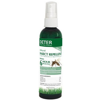 Deter Natural Insect Repellent 4 Ounce Bottle