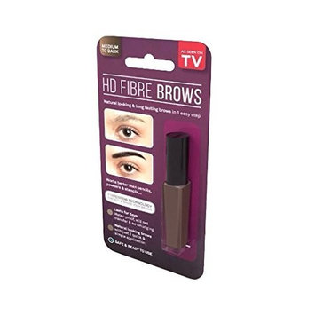 HD Fibre Brows Natural - Add Instant Definition, Texture & Colour - Waterproof, No Smudging (Light / Medium) by Unknown