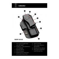Liberator Holster - H&K Vp9 - Ambi - Black
