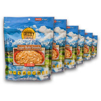 Grizzly Ridge Super Nutty Granola (Pack of 6)