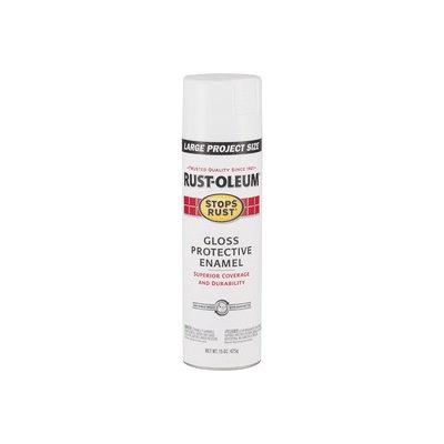 Rust-Oleum 15-oz White High-Gloss Spray Paint 284375