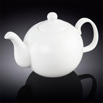 Wilmax 994047 1350 ml Tea Pot White - Pack of 18