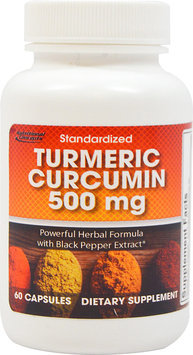 Nutritional Concepts Turmeric Curcumin 500mg -60 Capsules
