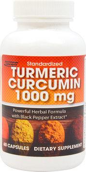 Nutritional Concepts Turmeric Curcumin 1000mg-60 Capsules