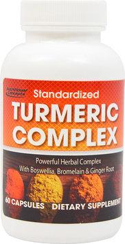 Nutritional Concepts Standardized Turmeric Complex-60 Capsules