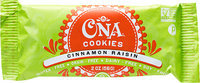 WB Kitchen - All Natural Honey Cookies Cinnamon Raisin - 2 oz.