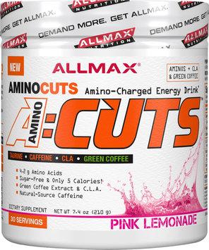 Allmax Nutrition AminoCuts - 30 Servings Pink Lemonade