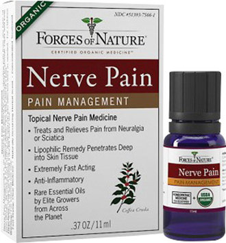 Forces of Nature Nerve Pain Rollerball Applicator-4 ml Each