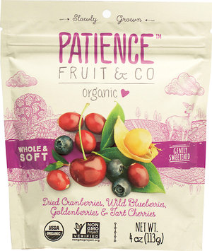 Patience Fruit & Co Organic Whole Dried Mixed Berries 4 oz