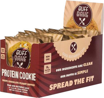 Buff Bake Buff Bake Cookies - 1 Cookie White Chocolate Peanut Butter