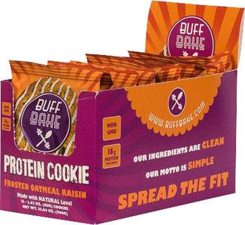 Buff Bake Buff Bake Cookies - 1 Cookie Frosted Oatmeal Raisin