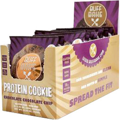 Buff Bake Protein Cookie Chocolate Chocolate Chip-12 Each