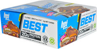 BPI Sports Best Protein Bar Chocolate Peanut Butter-12 Bars