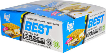BPI Sports Best Protein Bar S'mores-12 Bars