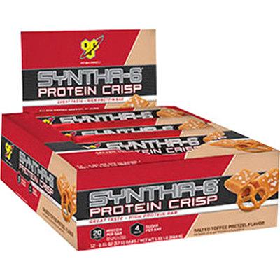 BSN Syntha-6 Protein Crisp Bar - 1 Bar Salted Toffee Pretzel