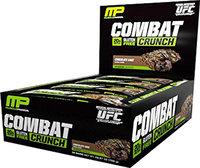 MusclePharm Combat Crunch Bars - 1 Bar Chocolate Cake
