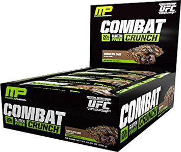 MusclePharm Combat Crunch Bars - 1 Bar Chocolate Cake