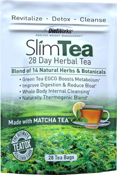DietWorks SlimTea 28 Day Herbal Teatox-28 Each