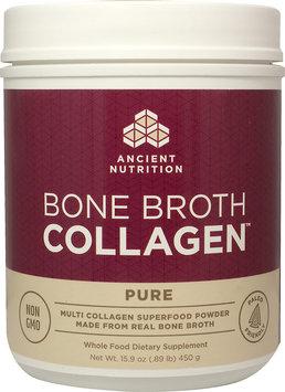 Ancient Nutrition Bone Broth Collagen Pure-15.9 oz Powder