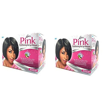 [ DISCONTINUED PACK OF 2] LUSTER'S PINK Conditioning Relaxer REGULAR TREATMENT: Beauty