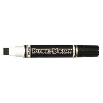 Dykem Industrial Paint Marker (Black, 1/16in Tip). Model: 77002