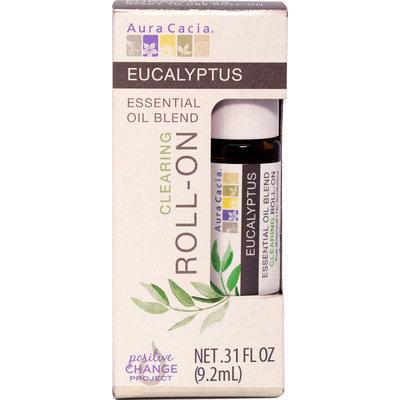Aura Cacia Eucalyptus Clarifying Roll On-0.31 fl oz Oil