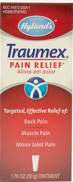 Hylands Homeopathic Pain Relief - Traumex - 1.76 oz Homeopathic Pain Relief