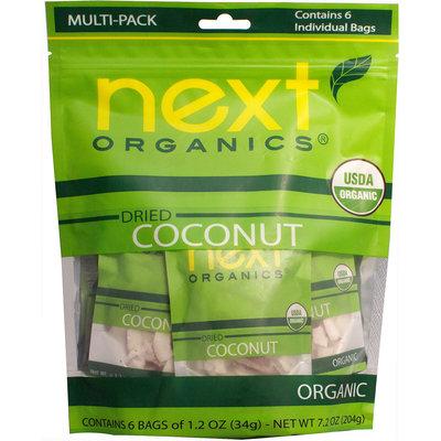 Next Organics Dried Coconut Multi-Pack-7.2 oz Each
